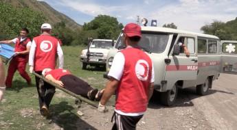 В Кыргызстане прошла подготовка к чрезвычайным ситуациям