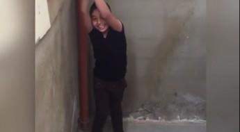Líbano: niño refugiado sirio recibe piernas ortopédicas