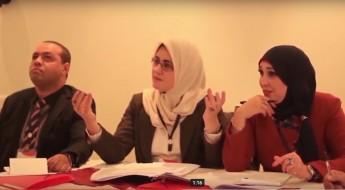 طلاب يستعرضون معرفتهم القانونية في محكمة صورية في الجزائر