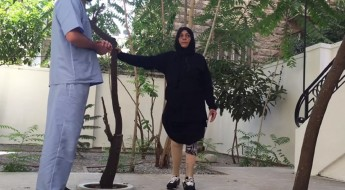 Syria: Amina walks again