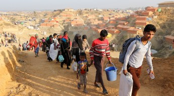 Bangladesh: Relocated families received aid in Cox's Bazar