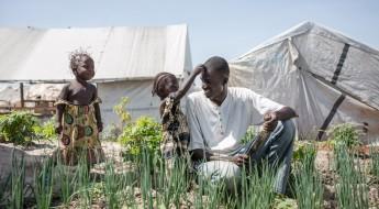 中非共和国:流离失所者营地内的生活