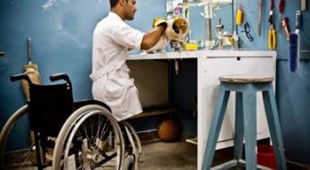帮助残疾人有尊严地活着