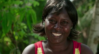 Tonia: sobrevivente do Ebola e mãe