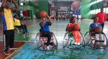 为埃塞俄比亚轮椅篮球运动提供重要援助