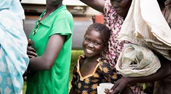 Des vivres et des semences redonnent le sourire à des enfants du Soudan du Sud