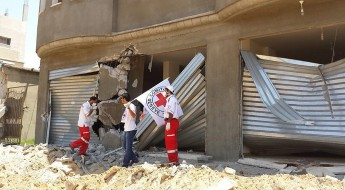 ICRC humanitarian activities during latest Gaza conflict