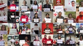 """Le Mouvement de la Croix-Rouge et du Croissant-Rouge unanime : """"Nous ne sommes #PasUneCible"""""""