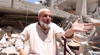 Ao voltarem para casa, moradores de Gaza se deparam com a destruição total