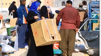 Iraq: Thousands of Iraqis and Syrians receive winter aid in Suleimaniyah