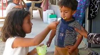 Irak: refugiados sirios en el campamento de Qushtapa viven en duras condiciones