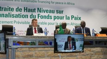 رئيس اللجنة الدولية يحيط مجلس السلم والأمن الأفريقي بشأن الوضع الإنساني في أفريقيا