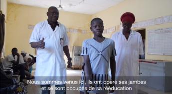 "Mali : ""Aujourd'hui, je peux marcher seul"", témoigne Mekidjan"