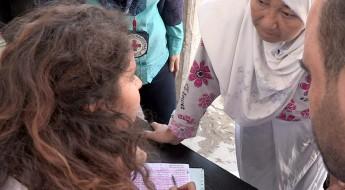 Líbano: ajuda aos refugiados palestinos que fugiram da Síria