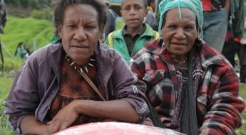 巴布亚新几内亚:红十字国际委员会首次在恩加省向受难家庭派发救济品