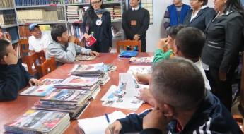 Perú: los libros viajeros que recorren los penales