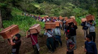 危地马拉失踪人员:体面的葬礼,最后的告别