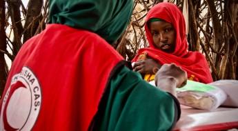 Na estrada com as equipes móveis de saúde do Crescente Vermelho Somali