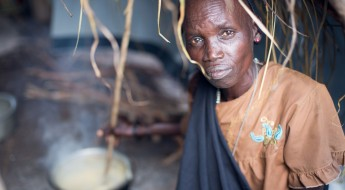 18,000 people seek safety in a South Sudan village
