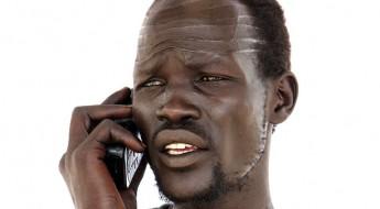 南苏丹照片集:如果你有三分钟,你会给谁打电话?