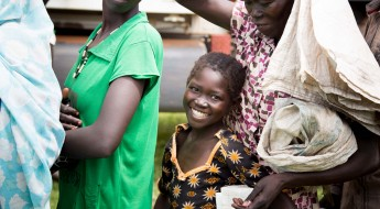 Food, seeds bring smiles to South Sudan's children