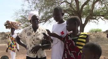 """جنوب السودان: """"غريس"""" تعثر على والدتها"""