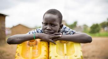 清洁饮用水是南苏丹民众的一条重要生命线