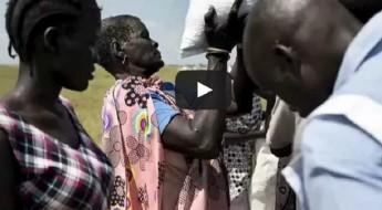 Sudán del Sur: alimentos que vienen del cielo