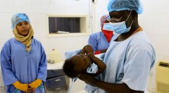 苏丹:治疗畸形足患儿