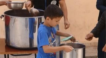 Siria: las cocinas comunitarias alimentan a personas empobrecidas y vulnerables