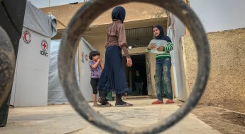 En images : fuir la Ghouta orientale syrienne