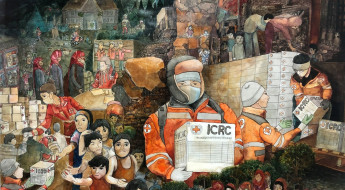 Thailand: Inspiring art pieces featured in exhibition reflect ICRC, IFRC and TRCS work