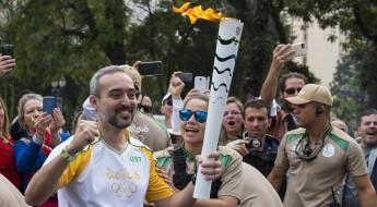 O CICV no Revezamento da Tocha Olímpica