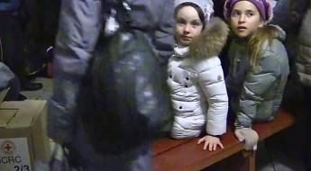 Ukraine : distribution de biens essentiels aux déplacés de la région de Donetsk