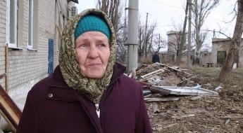 Ucrania: los residentes de Nikishyne se preparan para el frío intenso