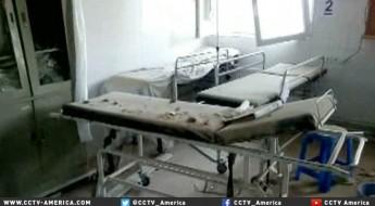 CCTV:保护战地医院面临的灰色地带(英文报道)