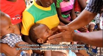 Assistência à Saúde em Perigo na República Centro-Africana