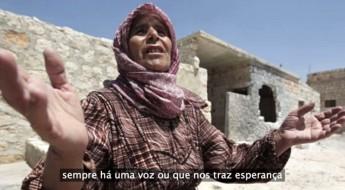 Campo de refugiados de Zaatari, Jordânia: ligar para casa