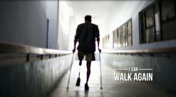 """I can walk again!"""