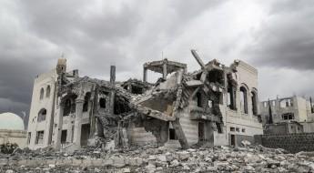 照片集:满目疮痍的也门