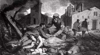 150 عامًا من العمل الإنساني: النساء والحرب