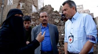 """رئيس اللجنة الدولية الذي يزور اليمن حاليًا يصف الوضع بـ """"الكارثي"""""""