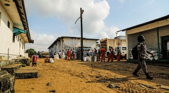 !Prisão Central de Monrovia, Libéria.