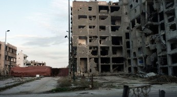 Homs, Syrie, 25 février 2016
