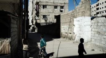 Homs, Síria, 25 de fevereiro de 2016