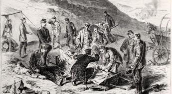 !1864年:保护受伤或患病的士兵