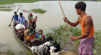 Relief assistance for flood affected communities in Bihar