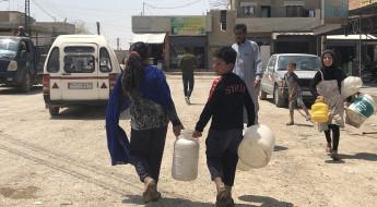 2020: أسوأ سنوات نقص المياه في مدينة الحسكة السورية