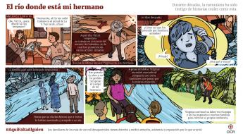 Vidas dedicadas a la búsqueda de personas desaparecidas en Colombia