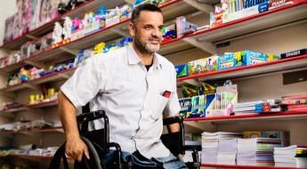 Superando a deficiência e o desemprego em Gaza